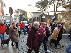 Marcha Rosa en Cangas del Narcea
