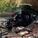 Un fallecido en un accidente de tráfico en Caroyas, Valdés