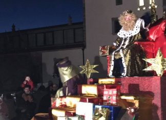 Cabalgata de Reyes en Tineo
