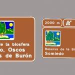 Nueva señalización para las reservas de Somiedo y Oscos-Eo
