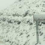 Sigue la alerta por nieve durante esta noche