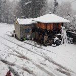 Nieve en Xestoselo, Grandas de Salime