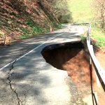98.000 euros para reparar el hundimiento entre Salas y Pravia