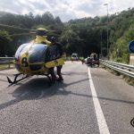 Dos heridos en un accidente de tráfico en Cadavedo, en Valdés
